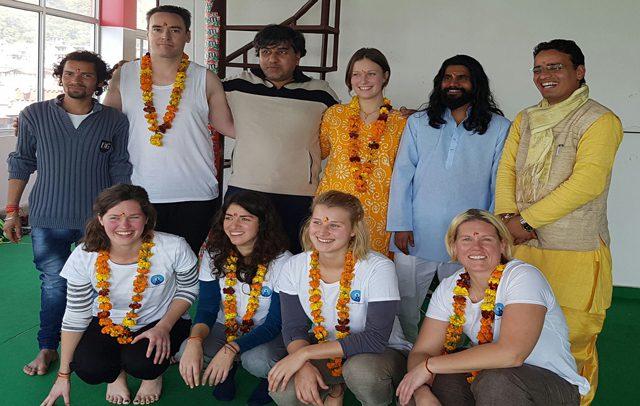 The 200 Hour Hatha Yoga Teacher Training group