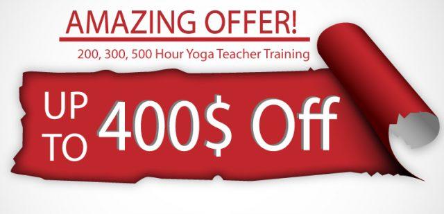 Yoga Teacher Training Discount