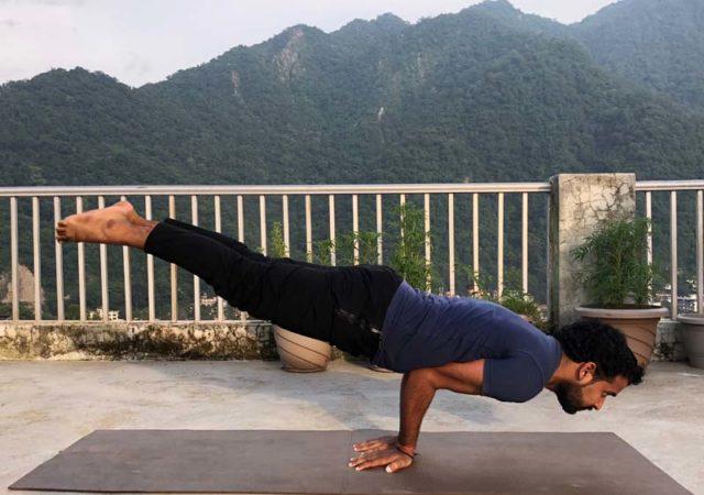 Yoga Teacher Training - Mayurasana