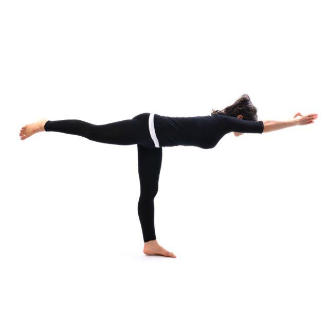 eka padasana yoga india foundation