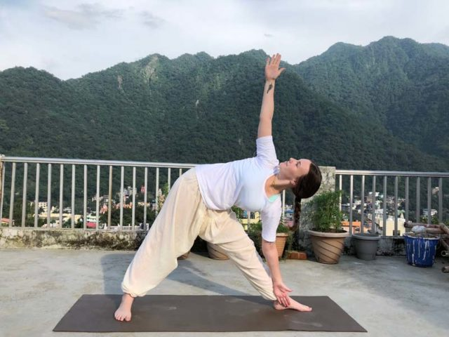 Yoga Posture - Makarasana