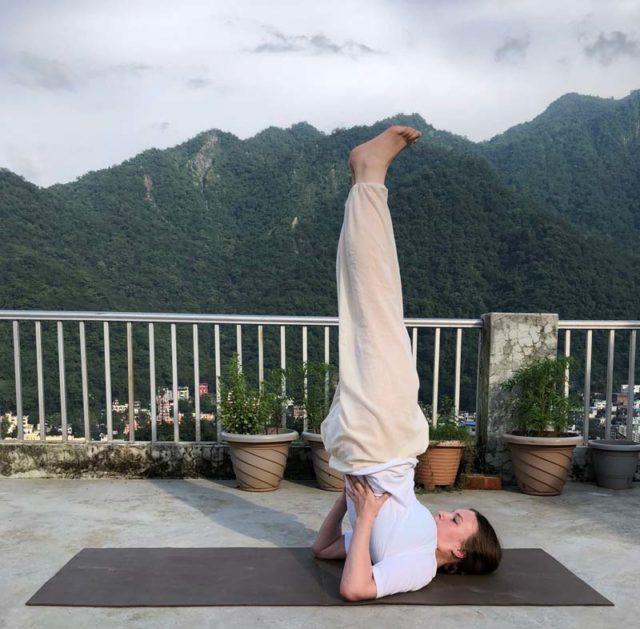 Yoga Asana - Sarvangasana