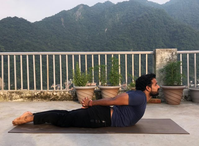 Yoga TTC Rishikesh - Sarpasana
