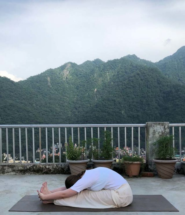 Become a Yoga Instructor - Paschimottanasana