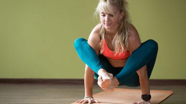 Yoga Asana - Bhujapidasana
