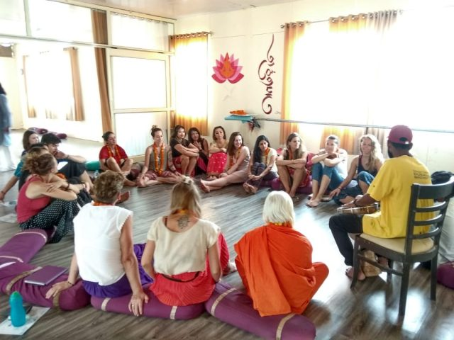 Yoga India Foundation Teaching Session