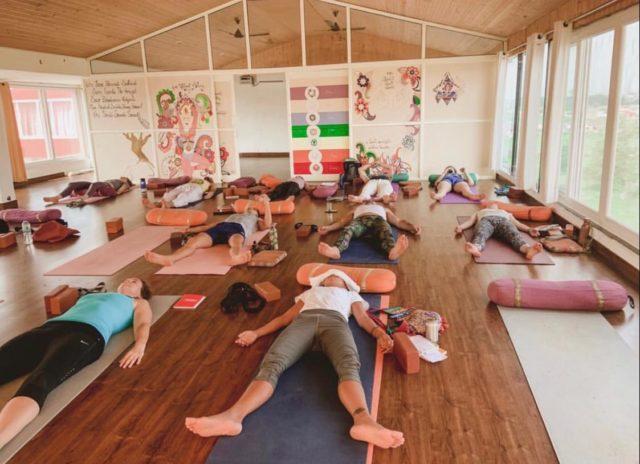 Yog Nidra Practice Session