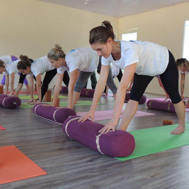 Preparing Yoga Practice Session