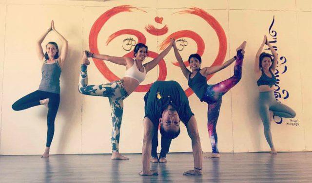 Group Yoga Posture