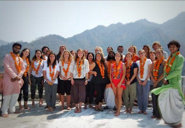 Yoga Graduates Ceremony