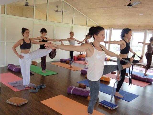 Yoga Center in India