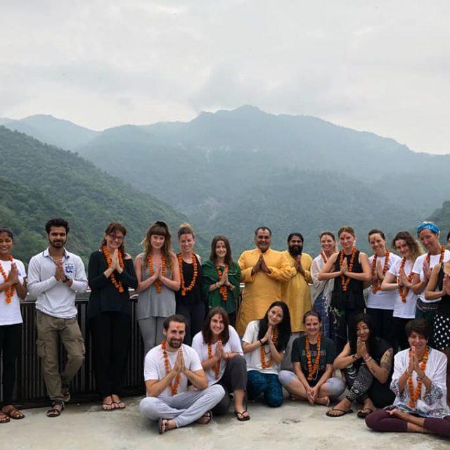 Yoga Teachers with Nature