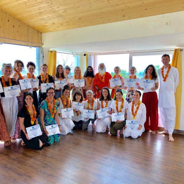 Yoga Teacher Training Batch Certification
