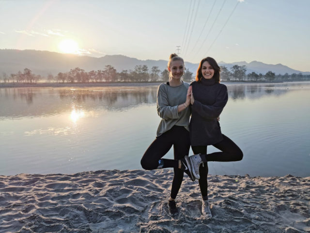 Yoga school in Rishikesh India